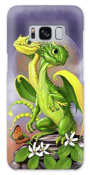 Lemon Lime Dragon Galaxy Case