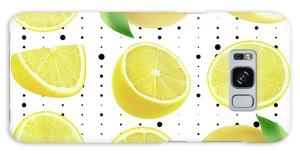Lemon  Galaxy Case by Mark Ashkenazi
