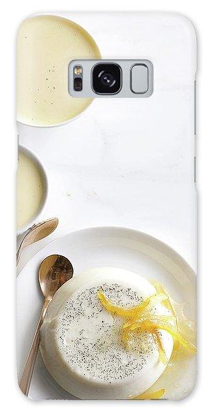 Lemon Panna Cotta Galaxy Case