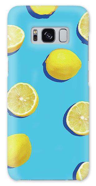 Lemon Pattern Galaxy Case