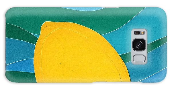 Lemon Slice Galaxy Case by Vonda Lawson-Rosa