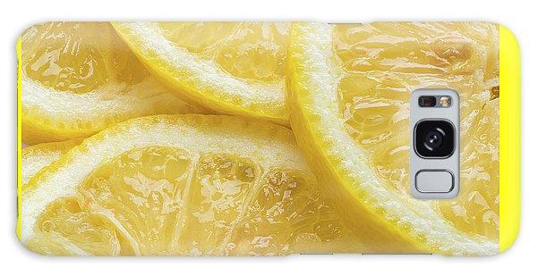 Yellow Galaxy Case - Lemon Slices Number 3 by Steve Gadomski