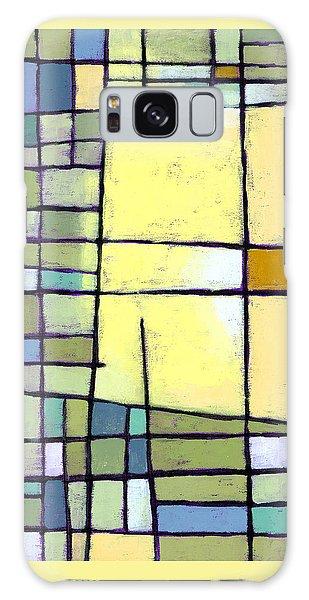 Yellow Galaxy Case - Lemon Squeeze by Douglas Simonson