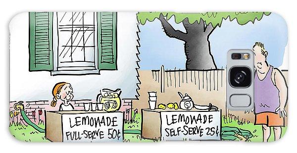 Lemonade Stand Galaxy Case