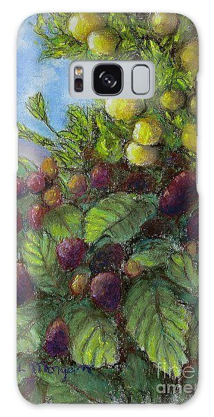 Lemons And Berries Galaxy Case by Laurie Morgan