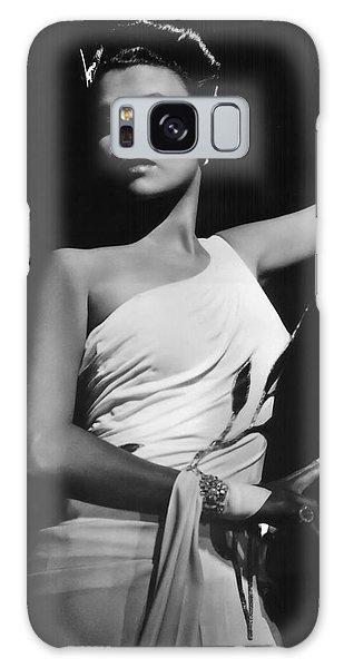 Lena Horne  Circa 1943-2015 Galaxy Case by David Lee Guss
