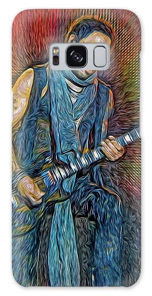 Folk Singer Galaxy Case - Lenny Kravitz, Musician by Mal Bray
