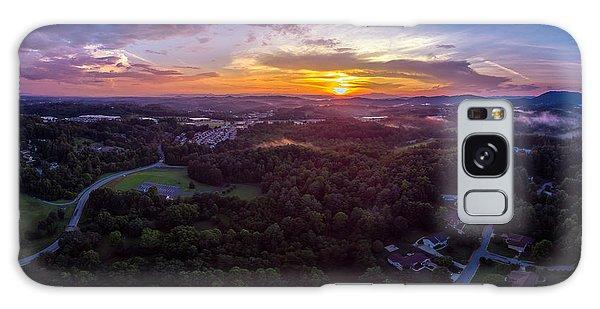 Lenoir North Carolina  Sunset Galaxy Case