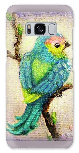 Galaxy Case - Lenten Love Bird by Kato D