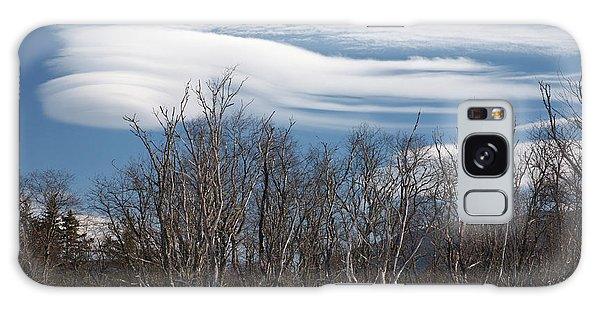 Lenticular Clouds - White Mountains New Hampshire  Galaxy Case