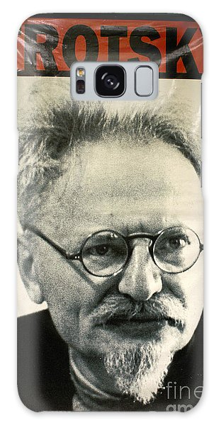 Leon Trotsky Poster Mexico City Galaxy Case