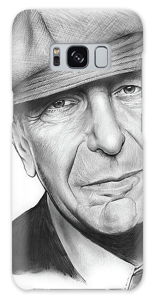Leonard Cohen Galaxy Case