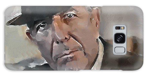 Leonard Cohen Tribute 4 Galaxy Case