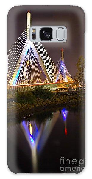 Leonard P. Zakim Bunker Hill Bridge Reflection Galaxy Case