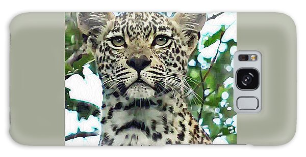 Leopard Face Galaxy Case