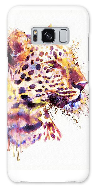 Leopard Head Galaxy Case