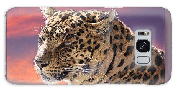 Leopard Portrait Galaxy Case