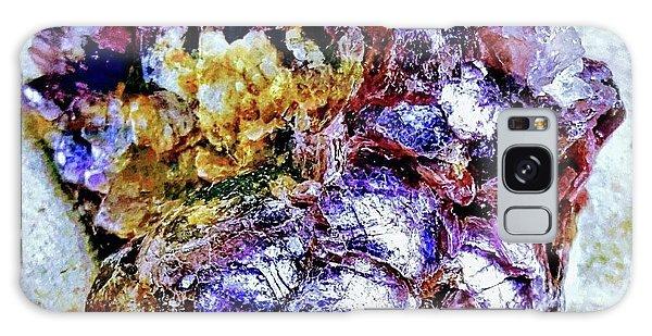 Lepidolite Galaxy Case by Rachel Hannah