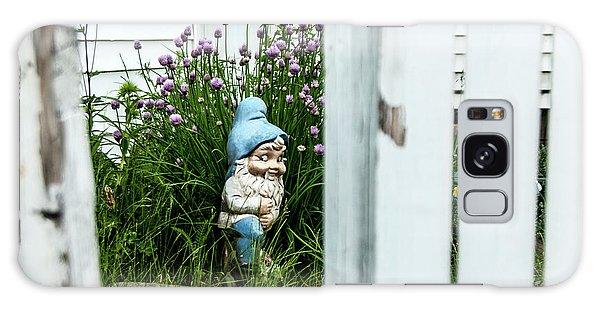 Leprechaun Munching Chives Galaxy Case by Daniel Hebard