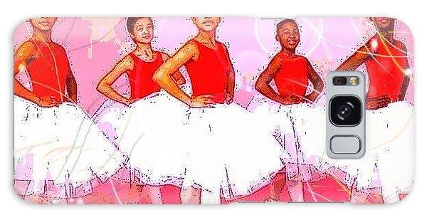 Les Danseurs Noirs Galaxy Case