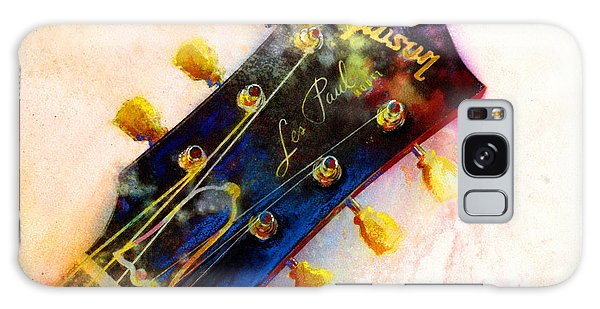 Guitar Galaxy Case - Les Is More by Andrew King