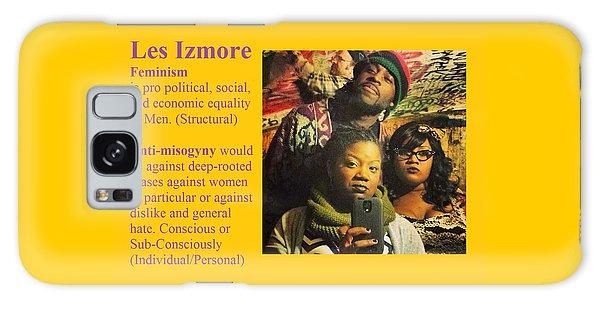 Les Izmore Feminism Galaxy Case