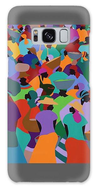 Galaxy Case - Les Palmes Market Haiti by Synthia SAINT JAMES