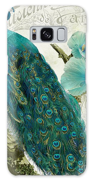 Peacocks Galaxy Case - Les Paons by Mindy Sommers