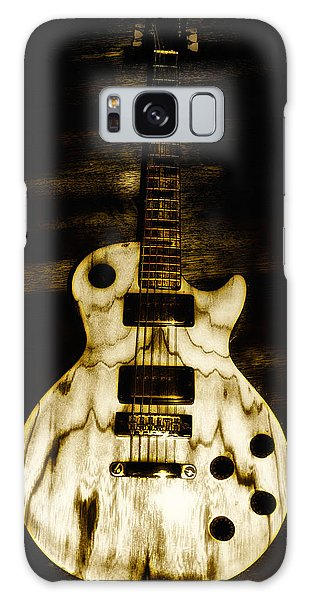 Music Galaxy Case - Les Paul Guitar by Bill Cannon