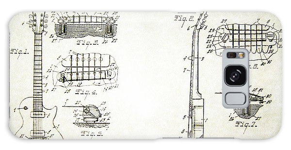 Les Paul Guitar Patent 1955 Galaxy Case by Bill Cannon