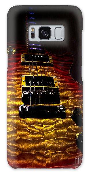 Galaxy Case featuring the digital art Guitar Custom Quilt Top Spotlight Series by Guitar Wacky