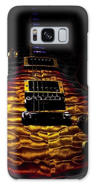 Tri-burst Quilt Top Guitar Spotlight Series Galaxy Case