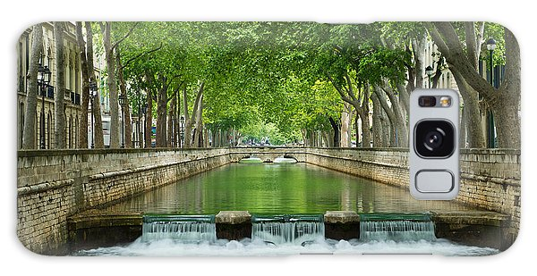 Les Quais De La Fontaine Galaxy Case