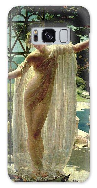 Mythology Galaxy Case - Lesbia by John Reinhard Weguelin