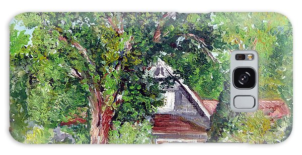 Lesher Homestead Boulder Co Galaxy Case by Tom Roderick