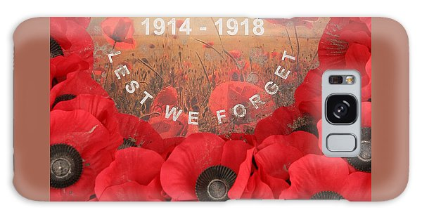 Lest We Forget - 1914-1918 Galaxy Case