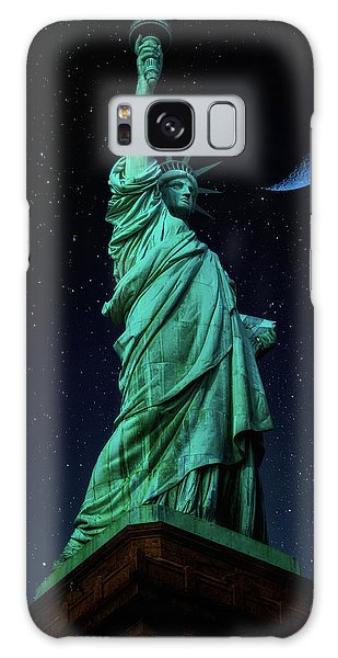Galaxy Case featuring the photograph Let Freedom Ring by Darren White
