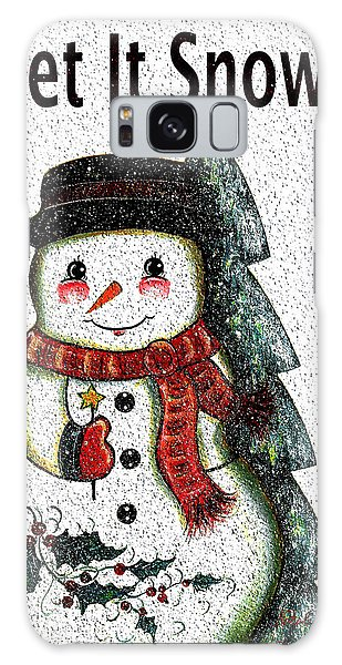 Scarf Galaxy Case - Let It Snow by Natalie Holland