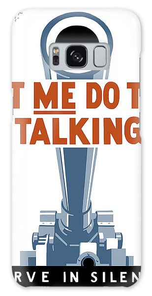 Cannon Galaxy Case - Let Me Do The Talking by War Is Hell Store