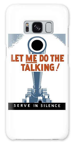 Political Galaxy Case - Let Me Do The Talking by War Is Hell Store