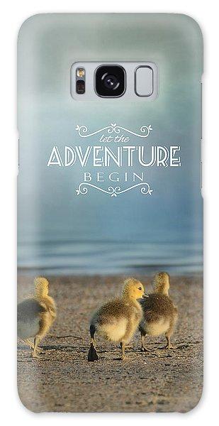 Gosling Galaxy Case - Let The Adventure Begin by Jai Johnson