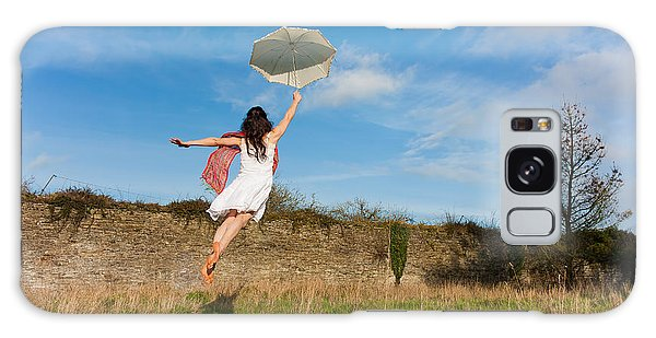 Let The Breeze Guide You Galaxy Case by Semmick Photo