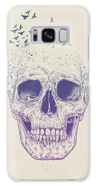 Skulls Galaxy Case - Let Them Fly by Balazs Solti