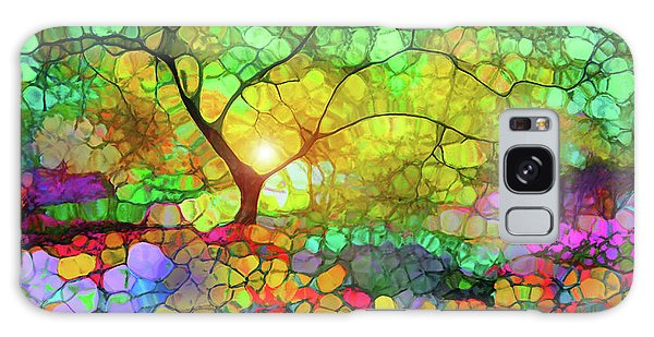 Let This Light Bring You Home Galaxy Case by Tara Turner