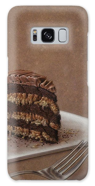 Layers Galaxy Case - Let Us Eat Cake by James W Johnson