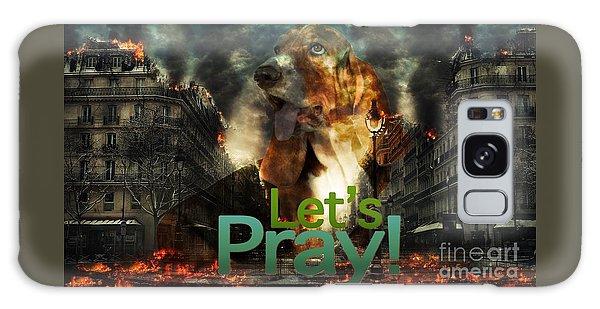 Let Us Pray Galaxy Case