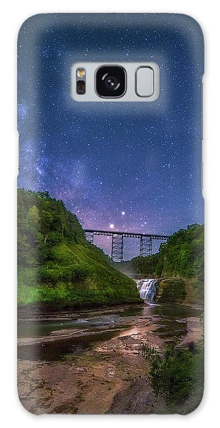 Letchworth At Night Galaxy Case