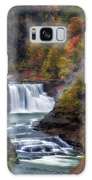 Letchworth Lower Falls 3 Galaxy Case