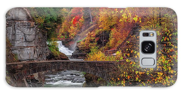 Letchworth Lower Falls Galaxy Case
