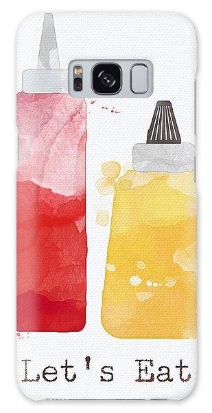 Summer Galaxy Case - Let's Eat by Linda Woods